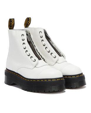 DR. Martens Sinclair White Boots