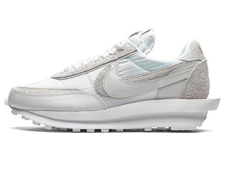 Sacai x Nike LDWaffle 'White Nylon'