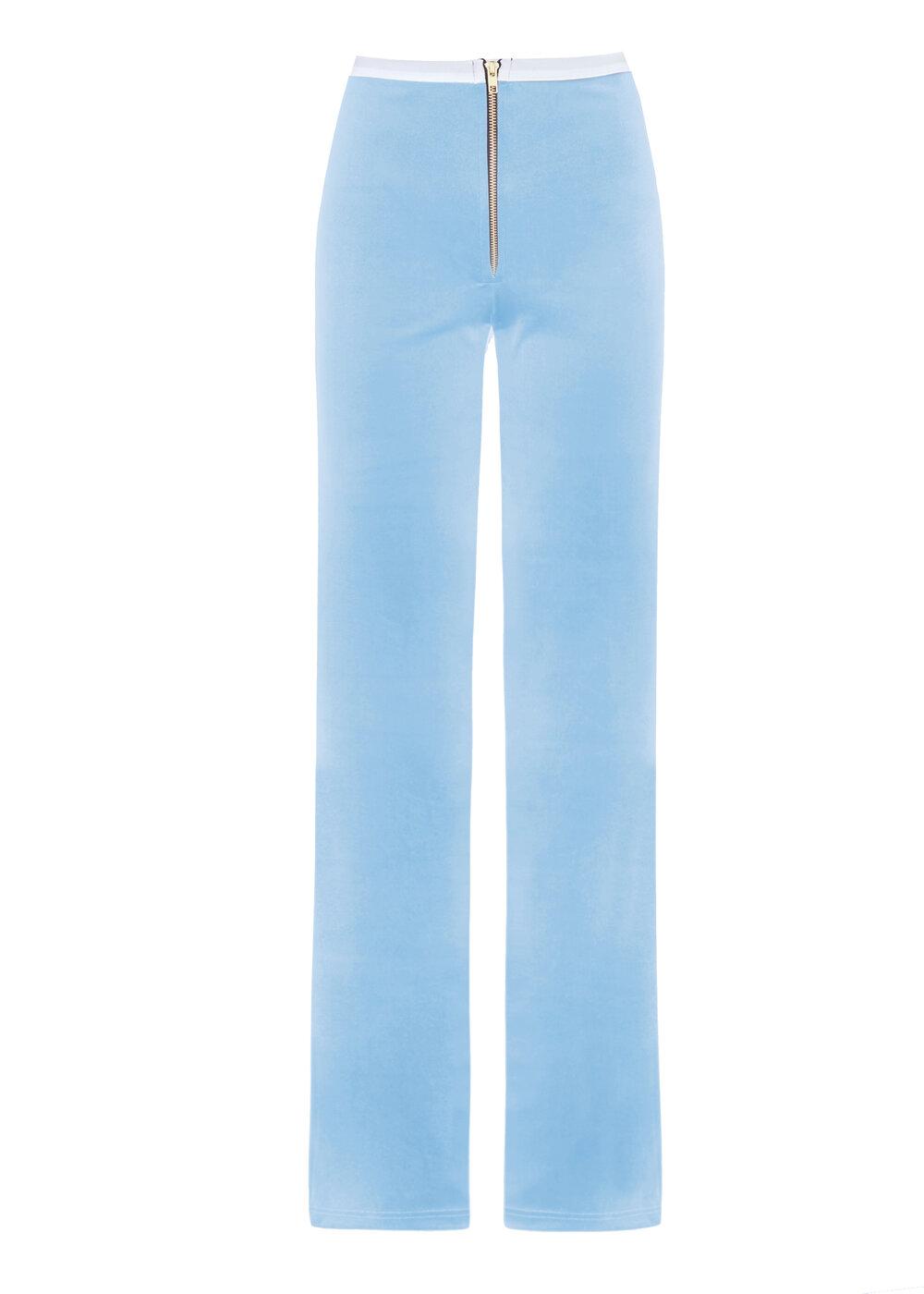 PEACHY+DEN+blue+PANTS+