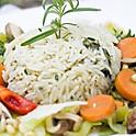 Jasmine Rice with Roasted Vegetables
