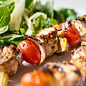 Chicken Shish Kebab with Veggies