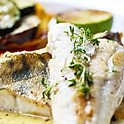 Pan-Roasted Fish Fillet with Herbs