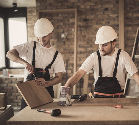 Picture of 2 men working