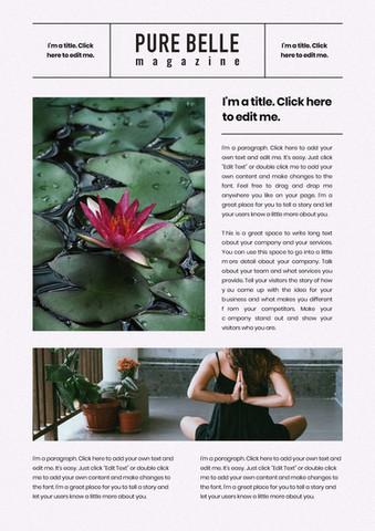 Pure Belle Magazine