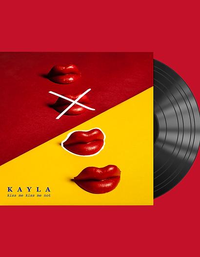 Kiss me Kiss me not - Vinyl