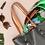 Thumbnail: Lenço de Seda Verde