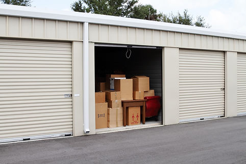 Commercial Steel Building Storage Space