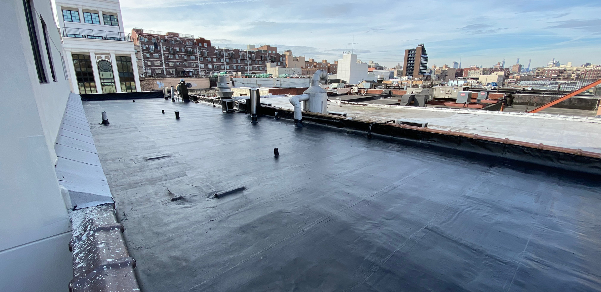 Flat Roof Repair in Williamsburg