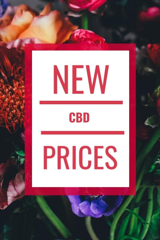 NEW CBD PRICES