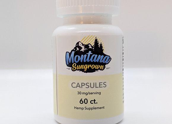 Montana Sungrown Capsules 60ct