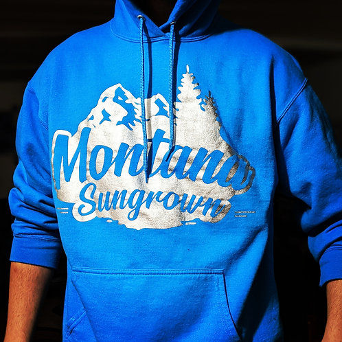 Teal Montana Sungrown Hoodie