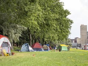 Hochelaga Encampment Evictions
