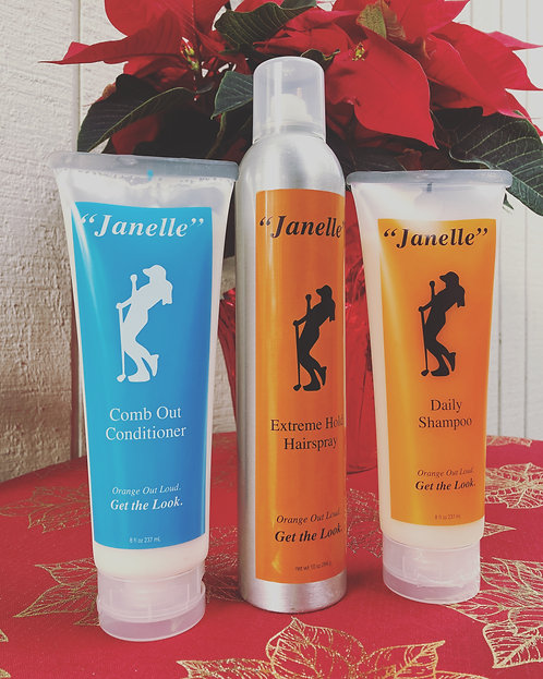 """Janelle"" Daily Hair Care Kit"