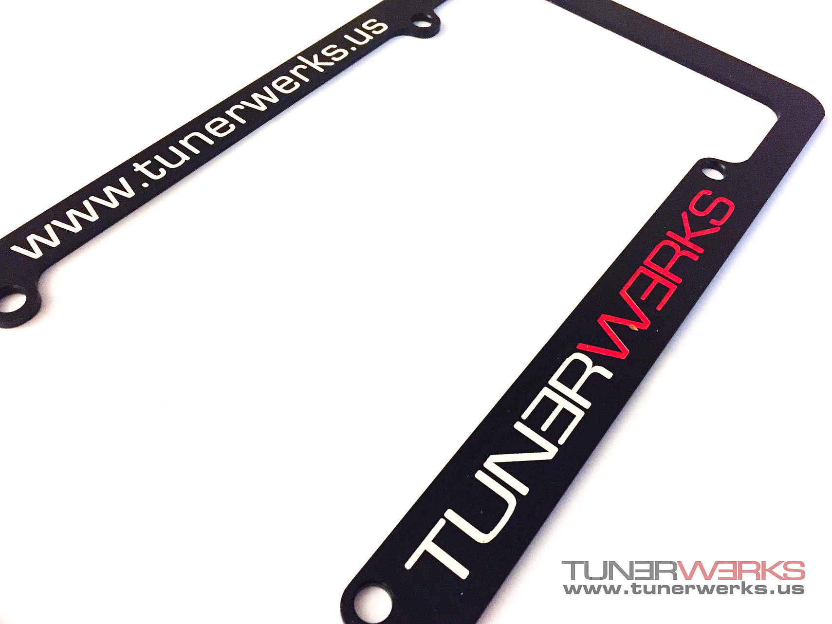 Aluminum License Plate Frame >> TunerWerks - ECU Tuning Distributor for European Cars | Aluminum License Plate Frame