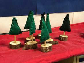 Adventsbasteln in der Grundschule