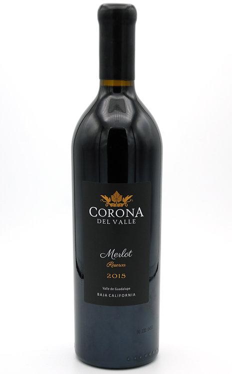 2015 Reserva Merlot  -  Corona del Valle