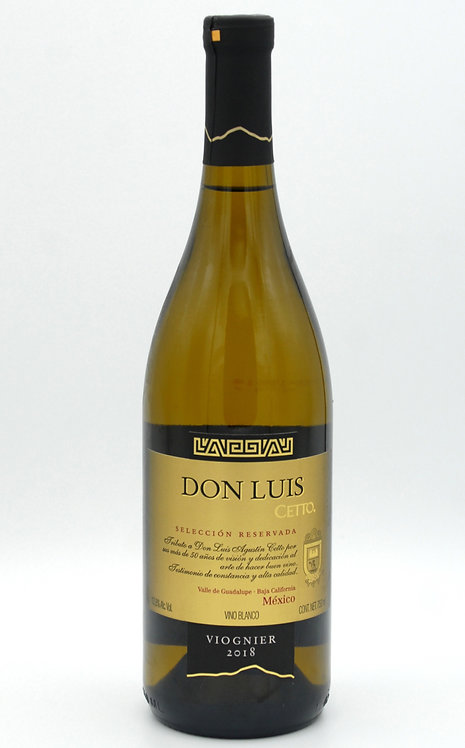 2018 Don Luis Viognier  -  L.A. Cetto