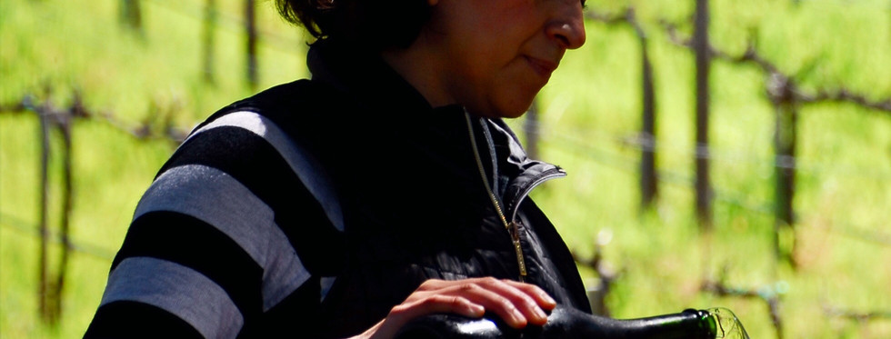 Veronica Santiago winemaker of Mina Penélope
