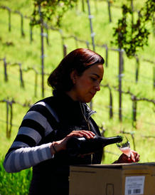 Winemaker of Mina Penelope