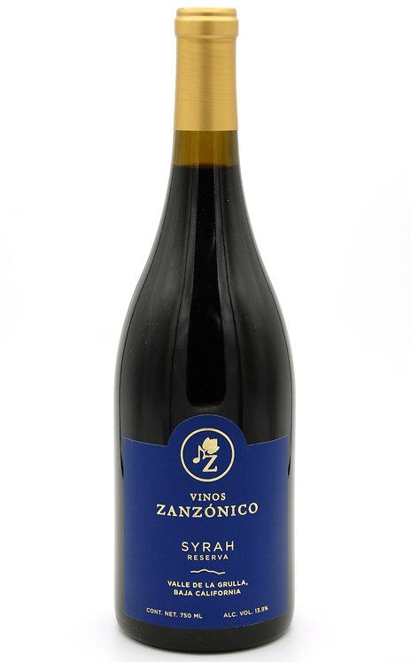 2018 Syrah Reserva - Vinos Zanzonico