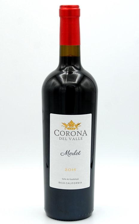 2016 Merlot  -  Corona del Valle