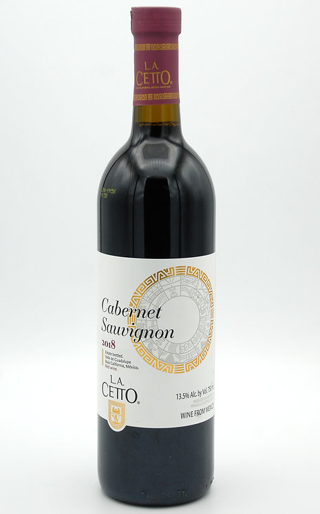 2018 Classic Line Cabernet Sauvignon  -  L.A. Cetto