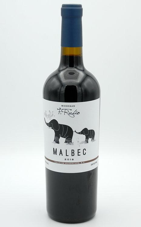 2018 Malbec  -  Bodegas F. Rubio
