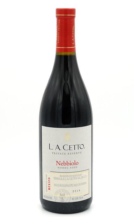 2015 Private Reserve Nebbiolo  -  L.A. Cetto