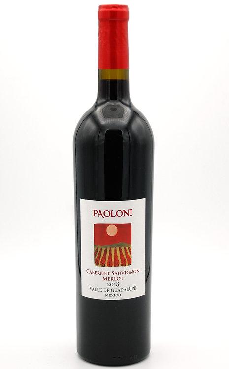 2018 Cabernet Sauvignon Merlot  -  Paoloni