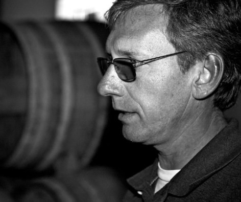 Winemaker Cristoph Gartner of Vinisterra - A man of precision focus on letting the land speak through his wines.