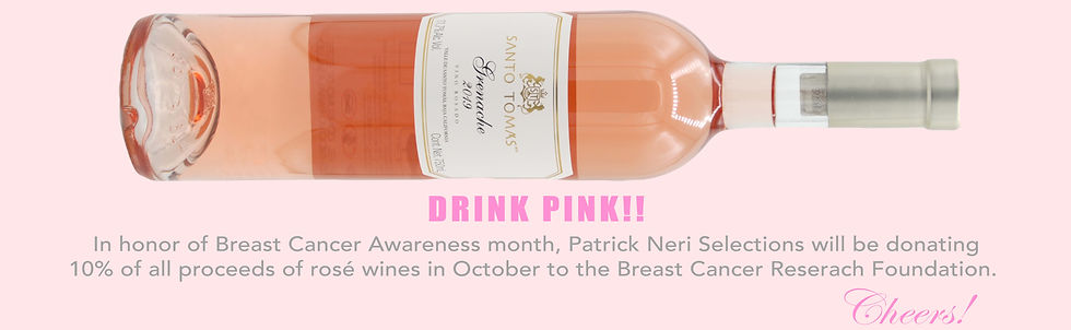 Breast Cancer Awareness, meixcan wine, wine, sale, buy, shopping, discount, rose, rose wine, mexican, made in mexico