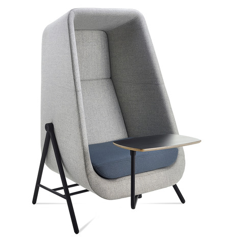 Muse Chair with Writing Tablet