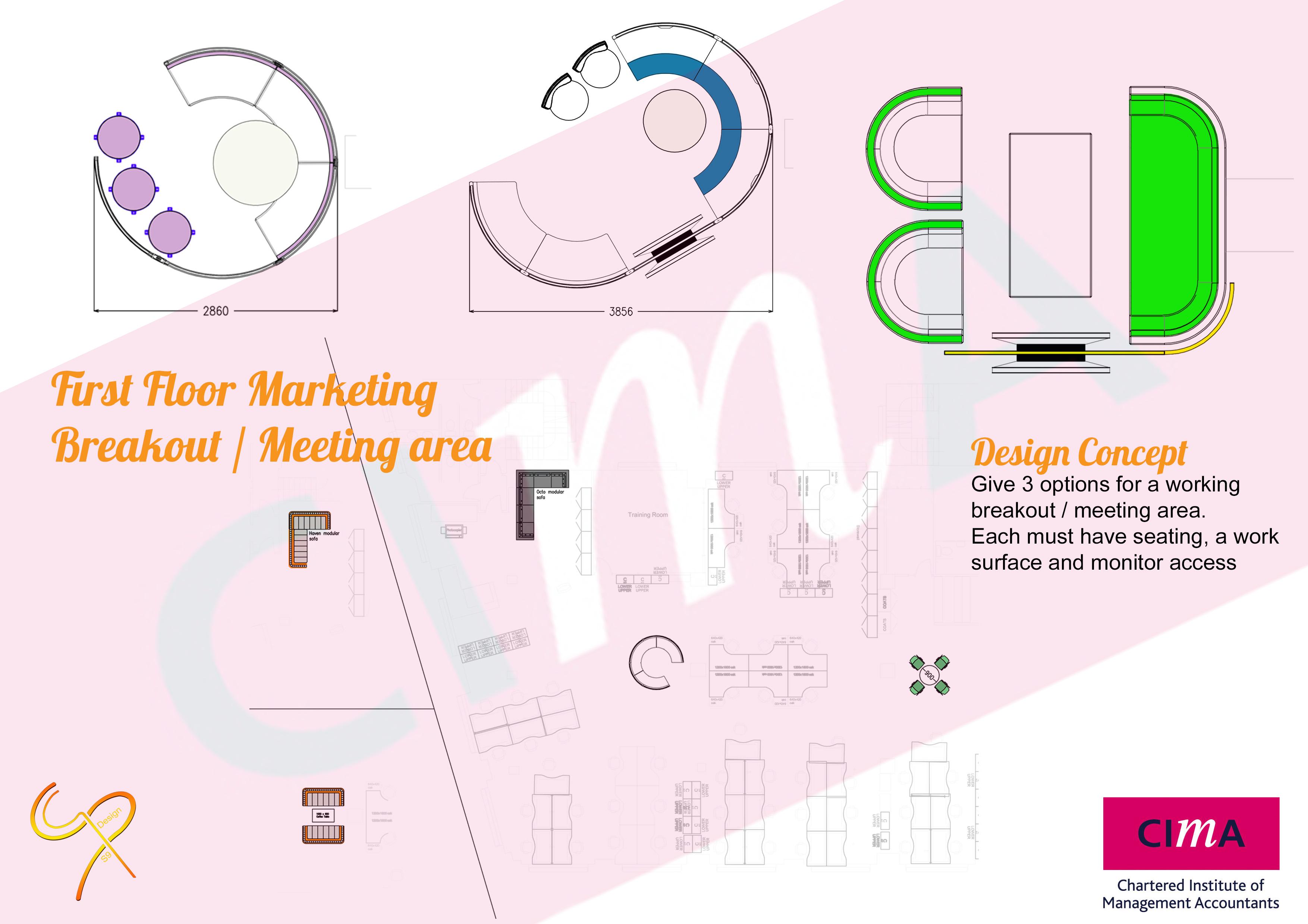 CIMA - First Floor Marketing Options