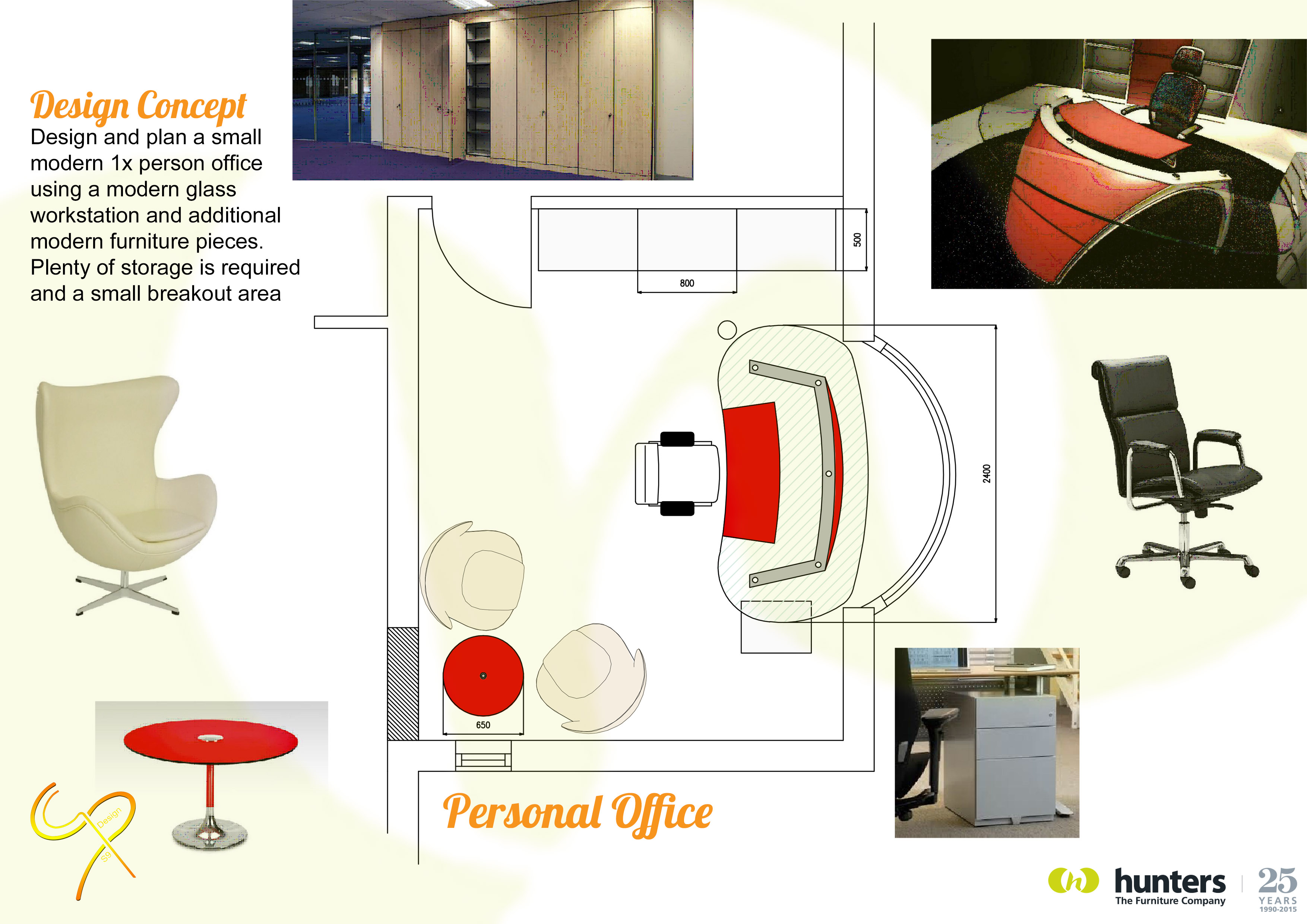 Hunters Contracts - Single Office