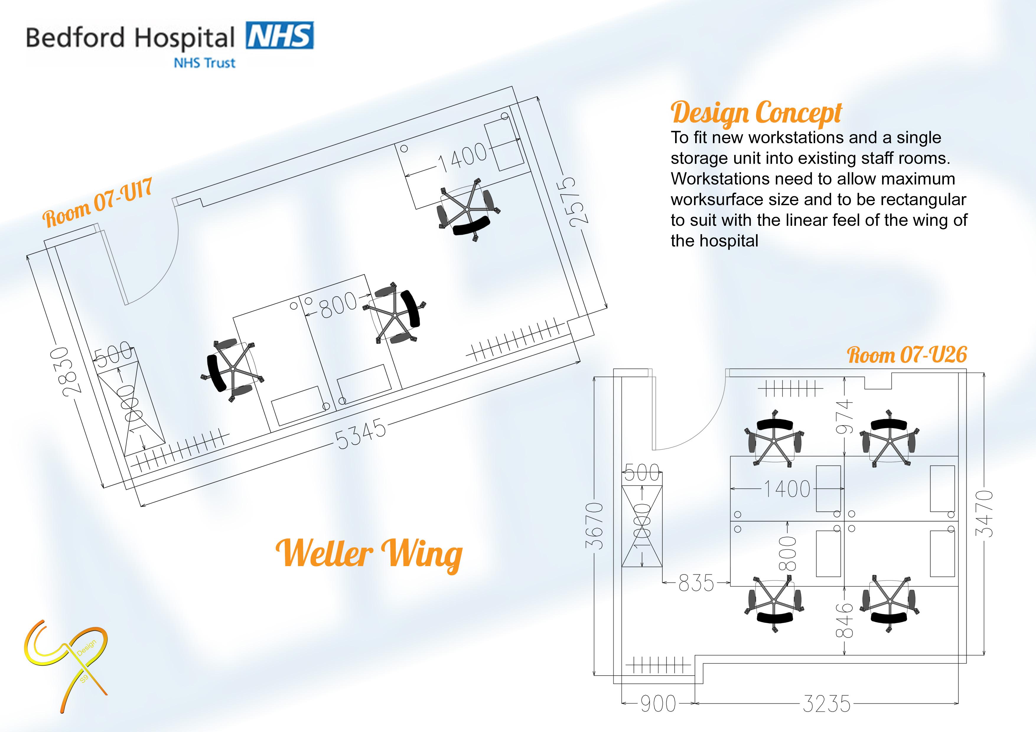 Bedford Hospital - Weller Wing