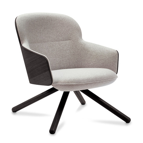 Hygge Low Chair with Broomstick Leg