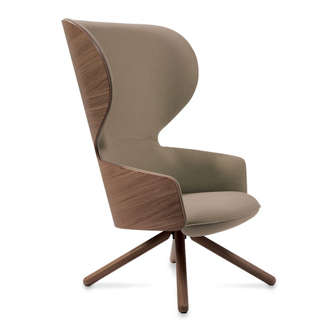 Hygge High Chair with Broomstick Leg