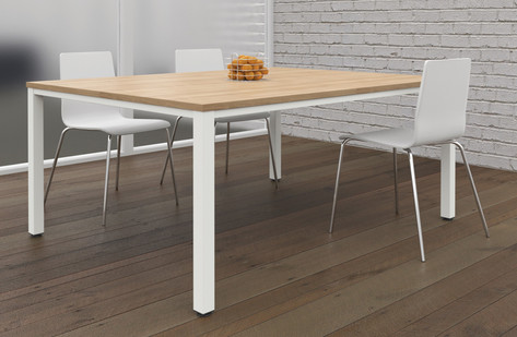 Fraction Infinity Square Meeting Table