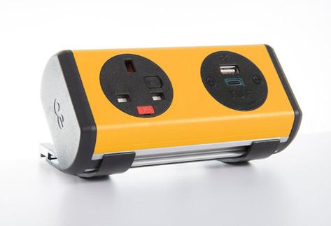 Panda-8 desk mounted Power Module