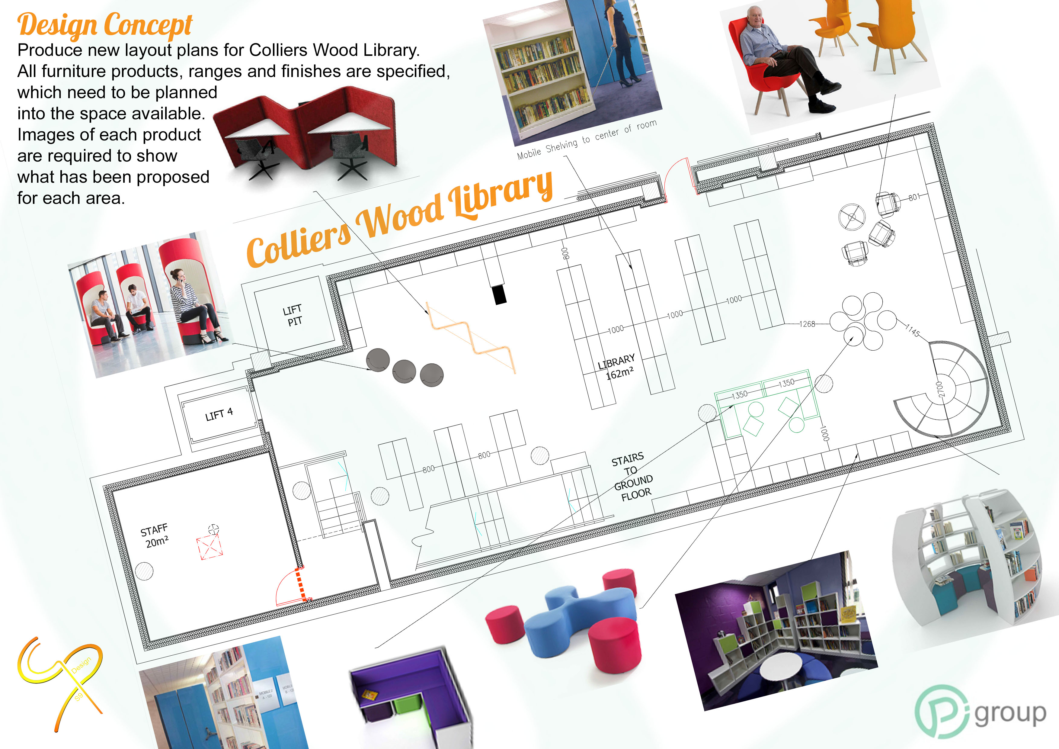 Pi Group - Colliers Wood Library