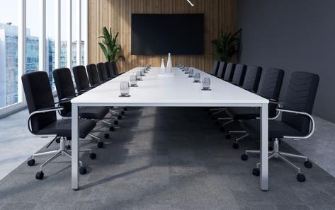 Fraction Infinity Rectangular Meeting Table