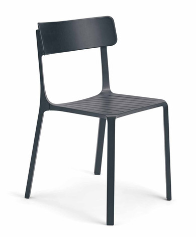 Sigma Chair in Black Plastic Finish