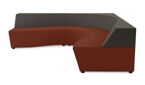 Horizon Modular Seating Corner Configuration
