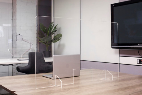 Clear Desk Shield Screens