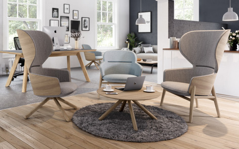 Hygge Chairs in situ