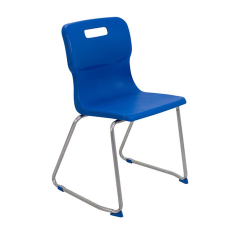 Student Chair with Skid Frame