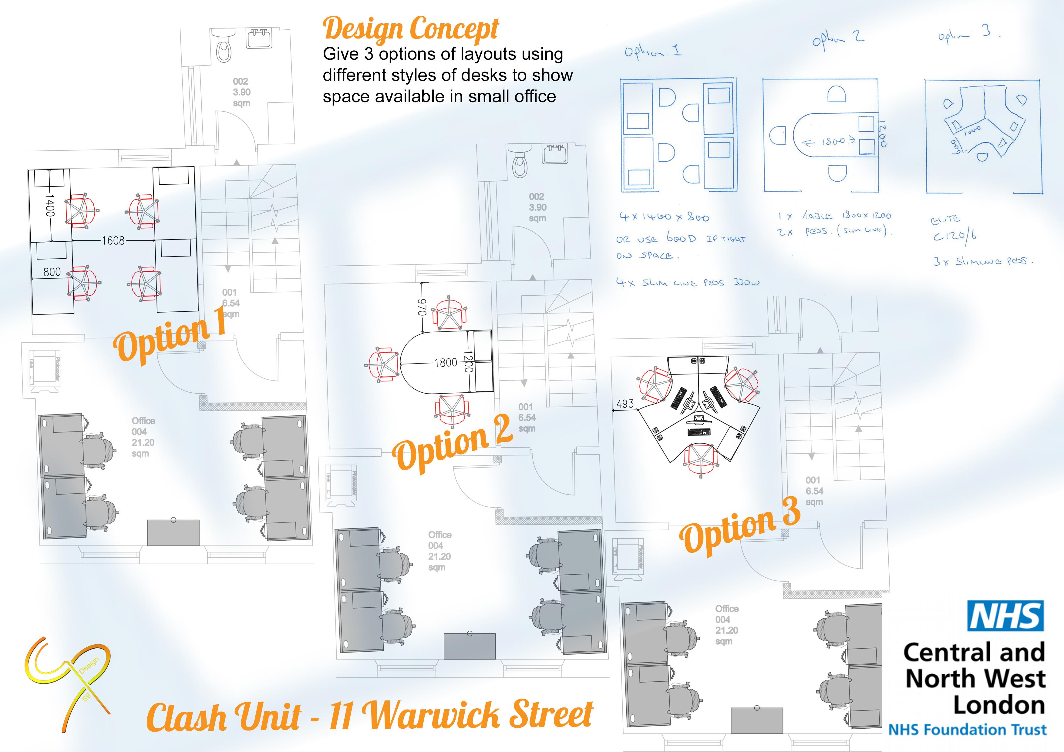 CNWL - Clash Unit - 11 Warwick Street