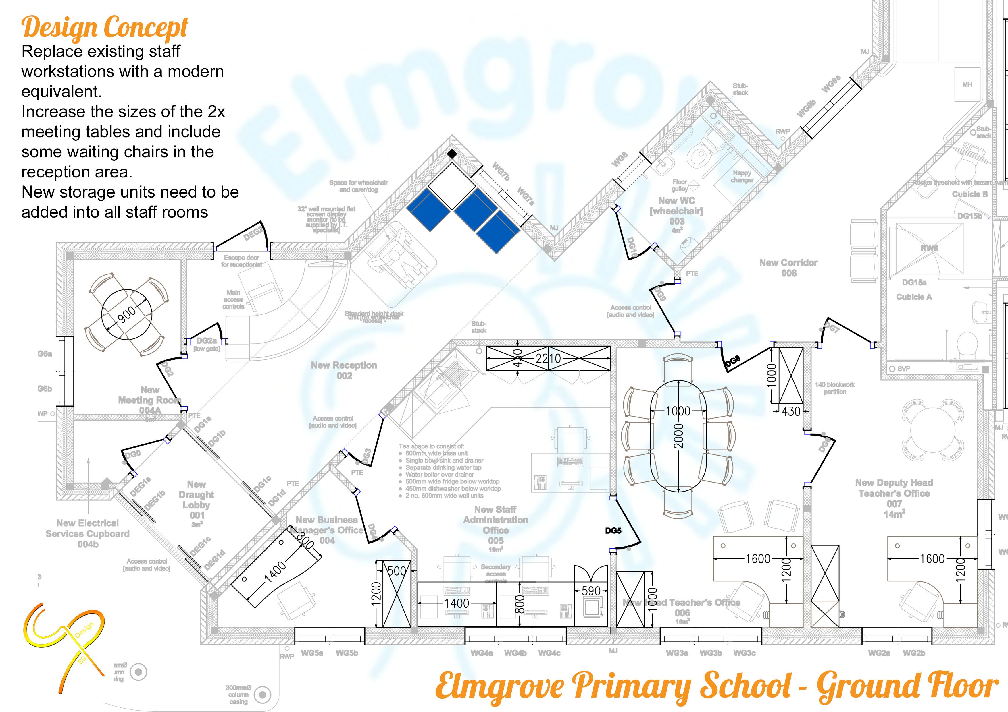 Elmsgrove Primary School - Ground Floor