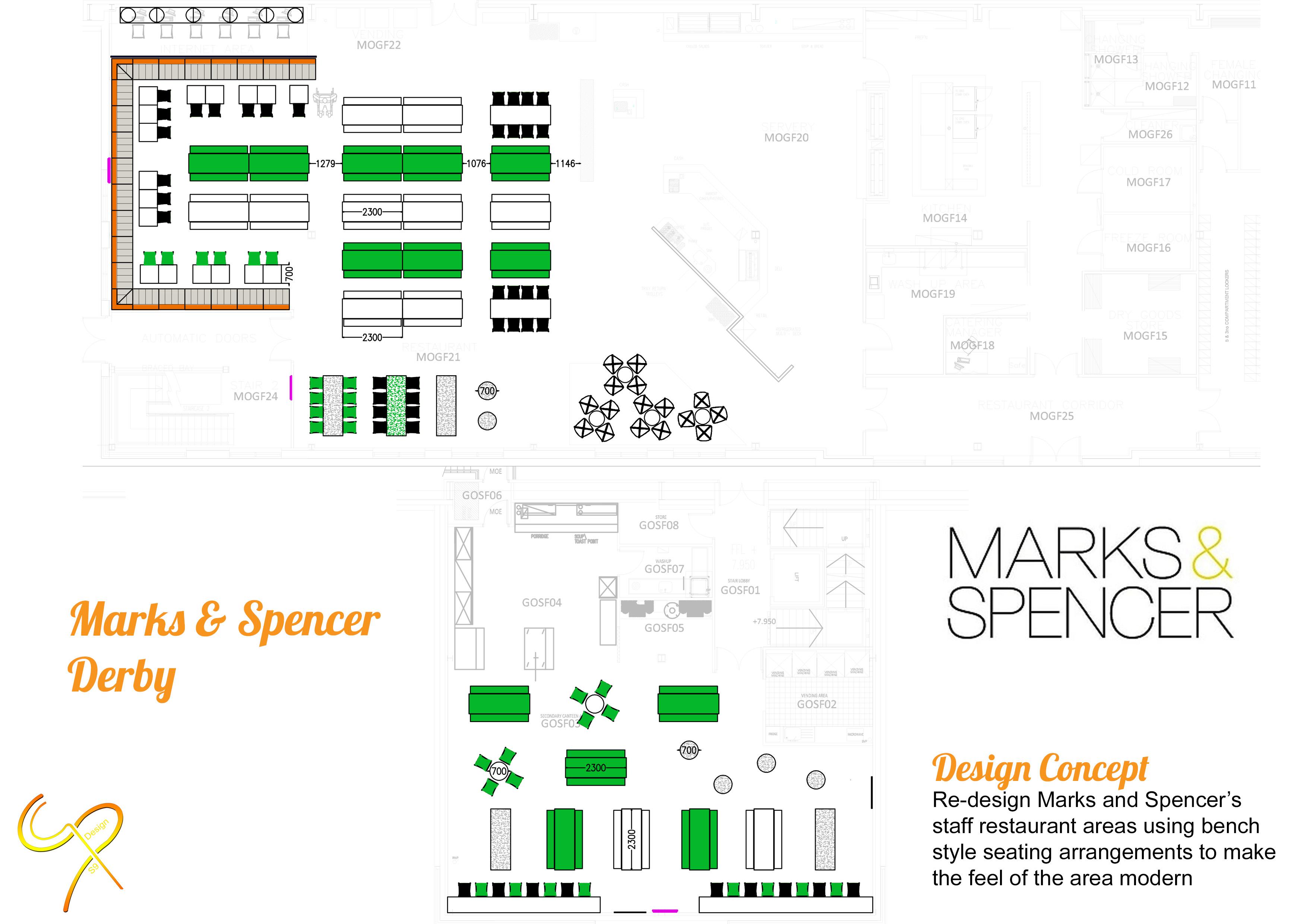 Marks & Spencer - Derby