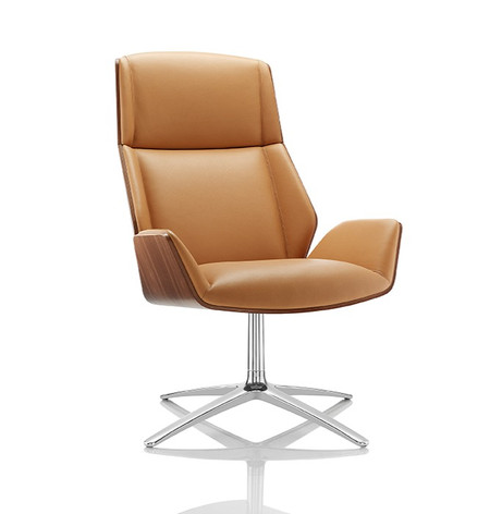 Kruze Lounge Chair - Walnut Shell